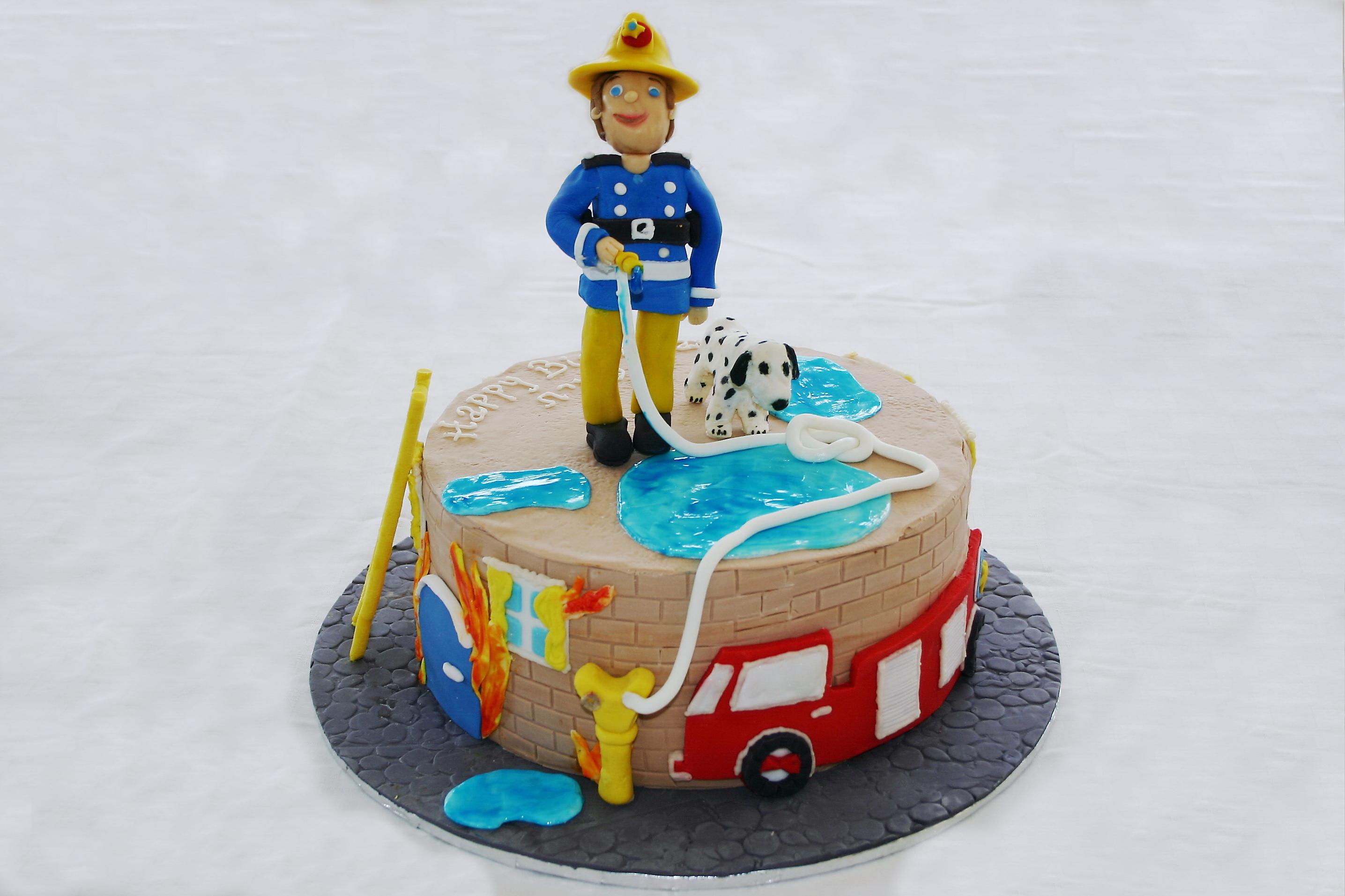 Fireman Sam Cake Jerusalemtemptationsisrael